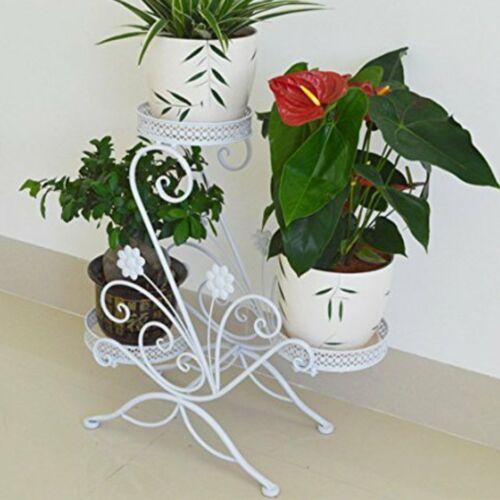 Pflanzentreppe Blumentreppe Blumenständer Pflanzregal 3 Stufen Leiter Ständer GO