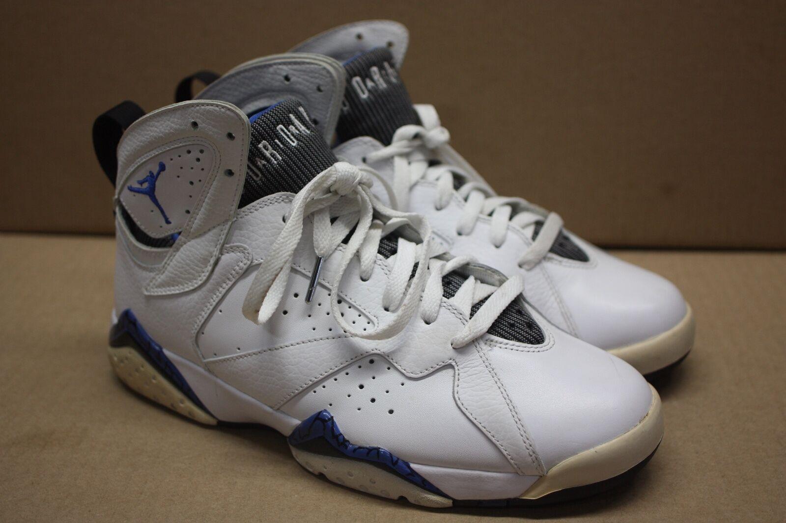 Nike air jordan vii 7 retrò orlando dmp bianco bianco bianco / blu / blk 304775 161 sz 8us / 7uk / 4 fc040d
