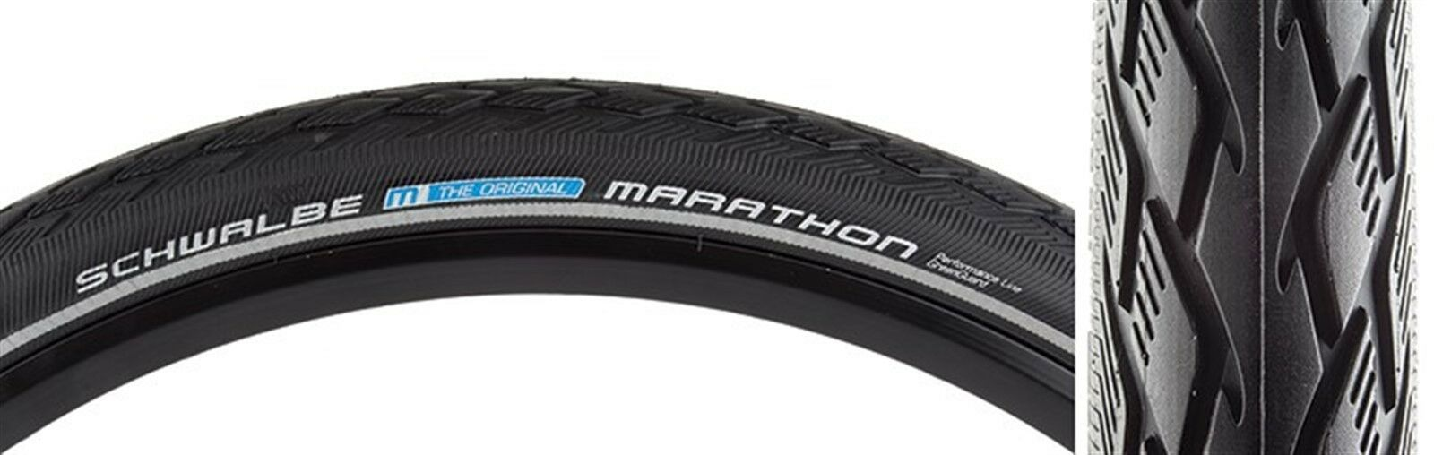 Schwalbe Marathon Tires  - Urban - 20X1.75 - 406 - Wire - Belted - Bk Ref - 50-7