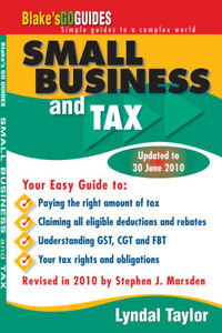 NEW Blake's Go Guides - Small Business and Tax educational textbook
