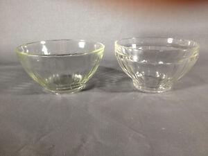 Lot-2-bols-ancien-en-verre-deco-de-cuisine-vintage-french-antique-bowl