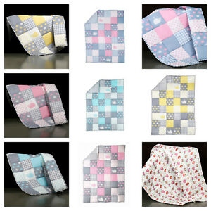 Baby-Quilt-Nursery-Bedding-Handmade-Baby-Blanket-Warm-Soft-Cotton-Quilt