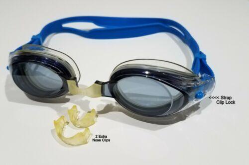 Grey Speedo Vanquisher Clear Swim Goggle