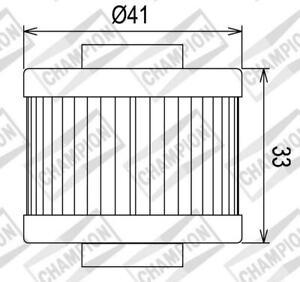 100609025-Oil-Filter-039-Champion-039-COF085-for-Aprilia-125-150-Engine-Rotax-Scara