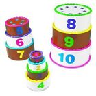 Learning Resources LER7312 Smart Snacks Stack and Count Layer Cake