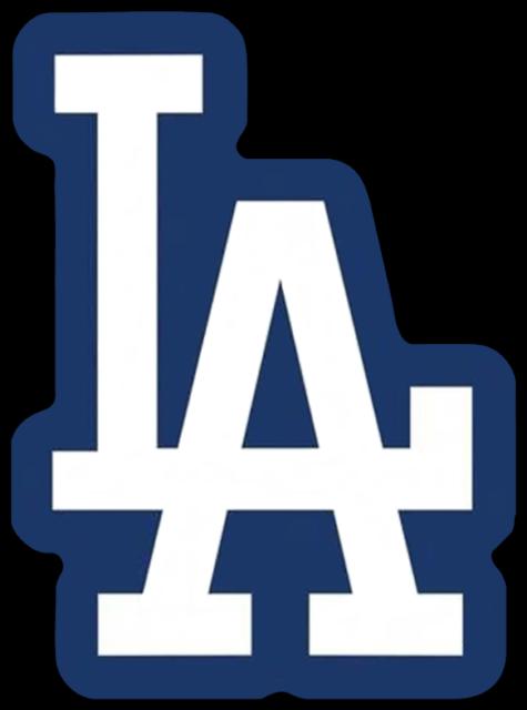 Los Angeles Dodgers - LA logo - MAGNET   eBay
