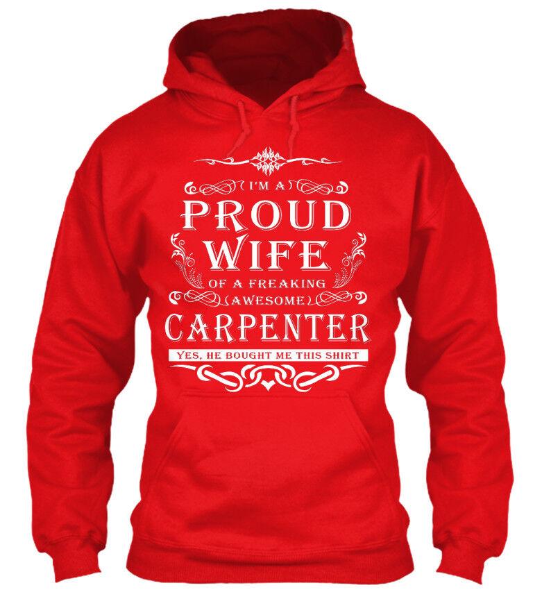 Great gift Proud Wife Wife Wife Carpenter - I'm A Of Freaking Standard College Hoodie  | Deutschland Outlet  | Haltbar  | Stilvoll und lustig  007f97