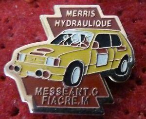 BEAU-PIN-039-S-VOITURE-RALLYE-TALBOT-SAMBA-MESSANT-G-FIACRE-M-MERRIS-HYDRAULIQUE