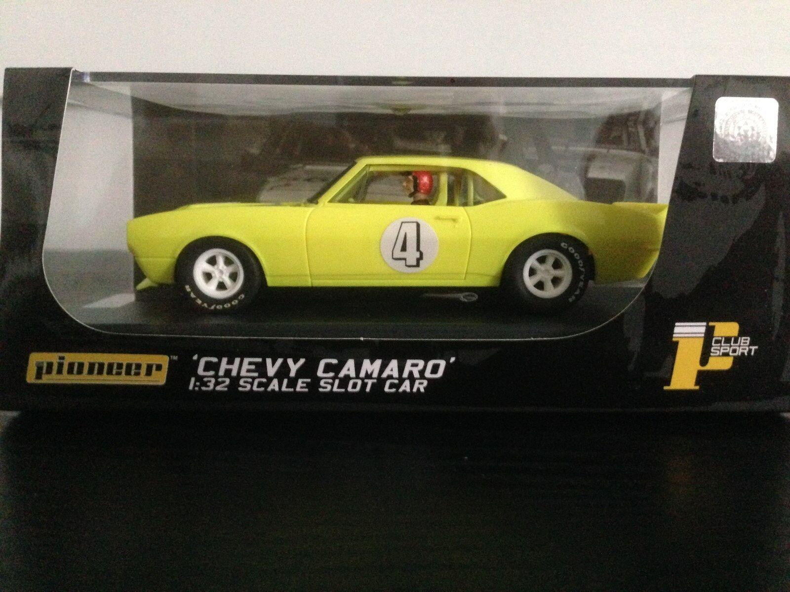 Pioneer ranura de coche Chevrolet Camaro gritando Amarillo J código especial J101212