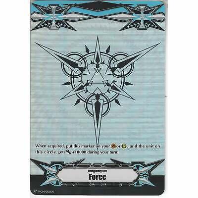 NON-FOIL CARDFIGHT VANGUARD BLACK IMAGINARY GIFT FORCE MARKER PROMO