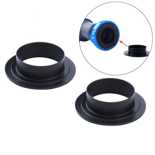 2Pcs 24mm Road Bike BB Threaded Shaft Press-in Bearing Protection Cover Surp FT