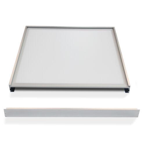 LED Panel Rahmen 120x30cm Montagerahmen Aufbaurahmen Aufputzrahmen für Decke Alu