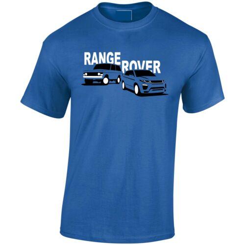 Lumipix Range Rover Old//New Inspired Mens 4x4 T-Shirt Great Gift!