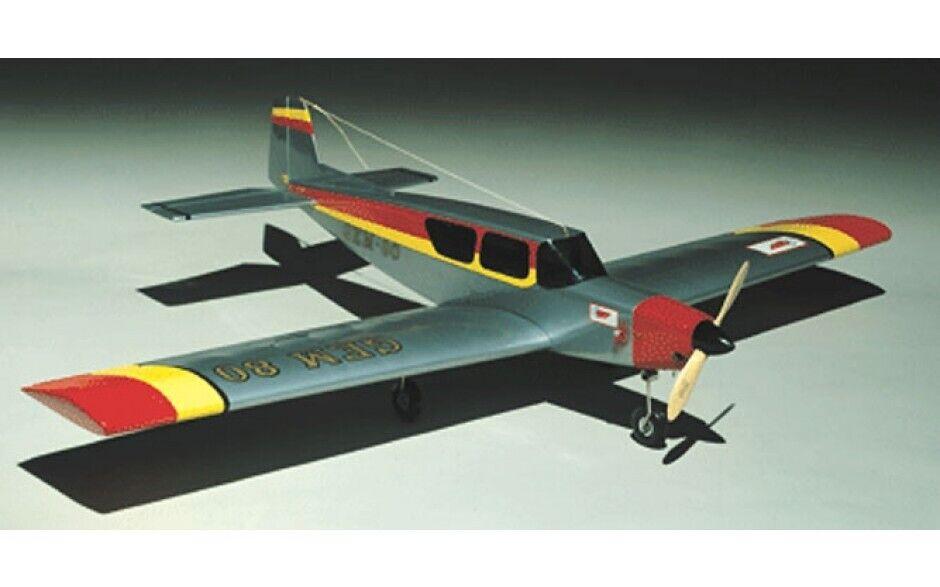 Gem 80 RC modellolo Aereo balsa & Ply KIT, costruzione  veloce-Ideal ala bassa acrobatiche TR  wholesape economico