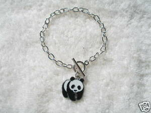 Image Is Loading Panda Charm Bracelet Alpha Omicron Pi Chinese Adoption