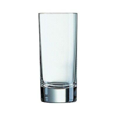 Islande Hi-Ball Tumblers 7.75oz x 12 Water Glasses Table Catering Restaurant