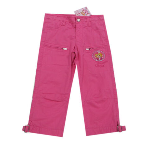 Principessa Lillifee pantaloni pantaloni corti cotone 7//8-tel ragazza rosa TG 110,128
