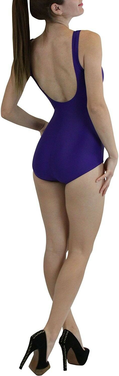 FashionCatch Women's One Piece Padded Swimsuit Navy Navy Navy Bathing Suit b313be