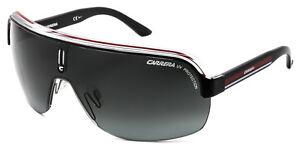 RARE-NEW-Authentic-CARRERA-TOPCAR-1-Black-Crystal-Red-Shield-Sunglassess-KB0PT