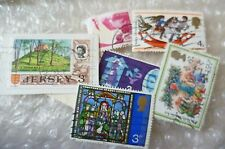 Stamp- A collection of Christmas & Others Stamps - lot of 6 (Used & Unused)