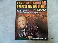 FASCICULE GRANDS FILMS DE GUERRE N°29 L'EXPRESS DU COLONEL VON RYAN Sinatra  H39