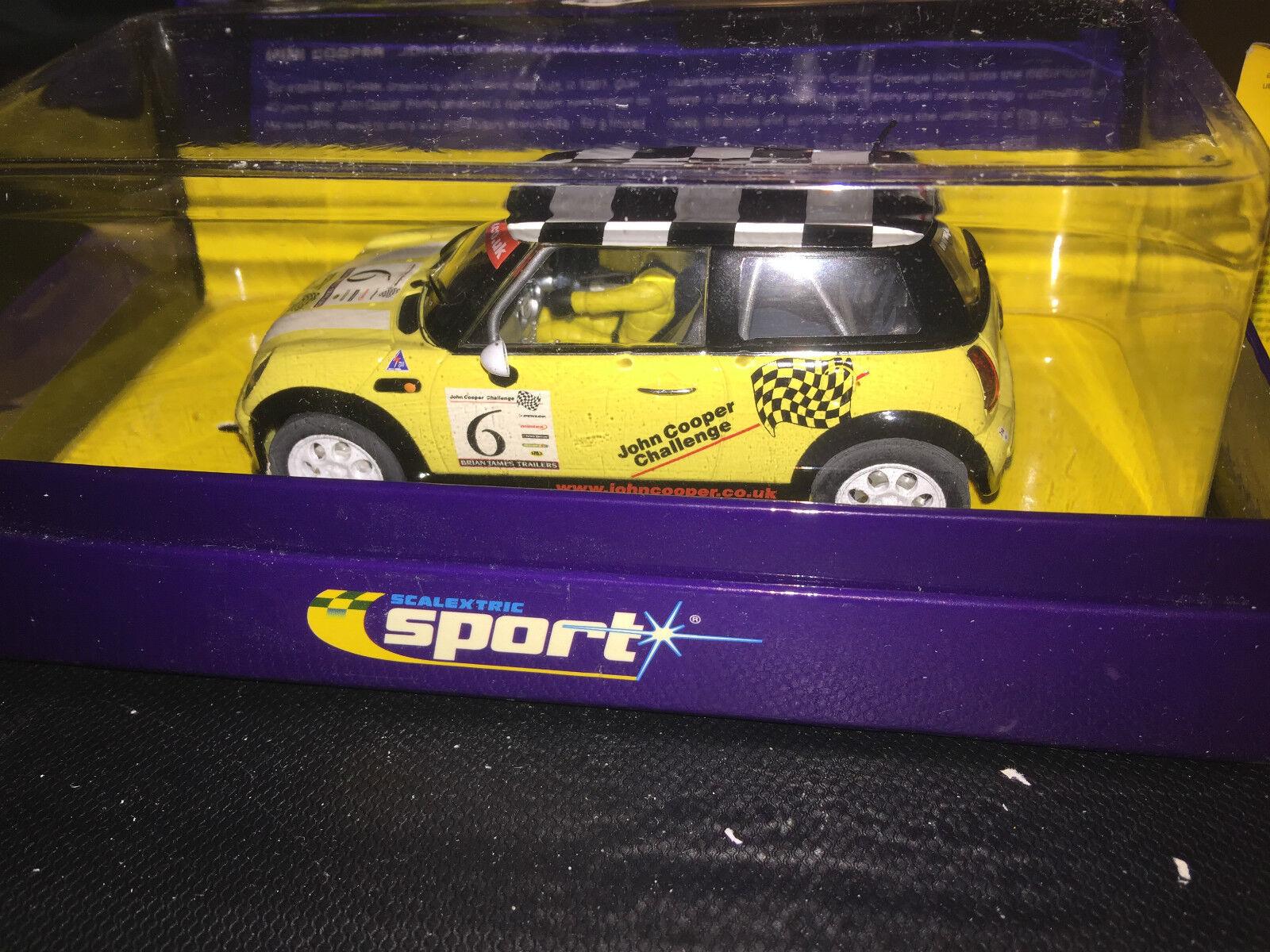 Scalextric C2485A  Mini Cooper John Cooper Challenge No6
