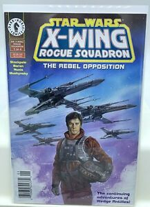 Star Wars X-Wing Rogue Squadron The Rebel Opposition Comic Newsstand VF Wedge 1