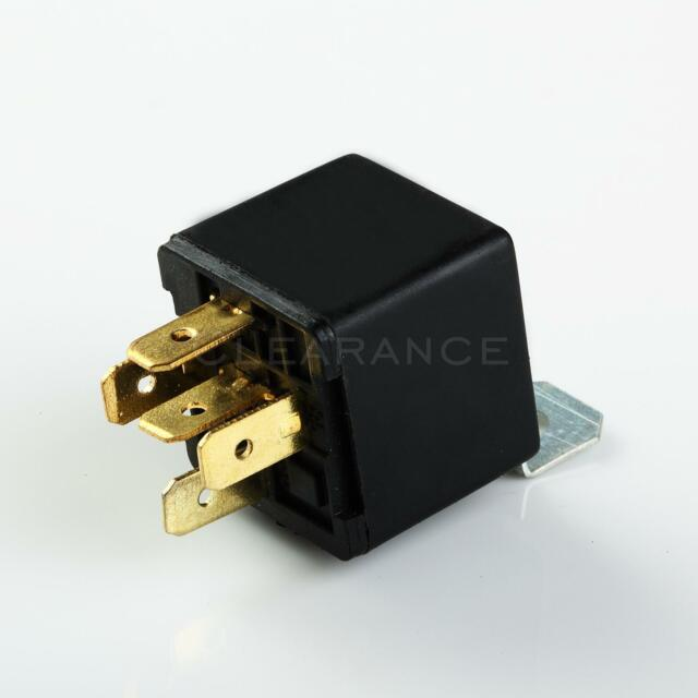 12V 12 Volt MAS POWER RELAY WITH EPOXY 30AMP 5 PRONG RELAY PLASTIC MOUNT