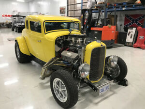1932 Ford 5-Window Steel Body Coupe with title!