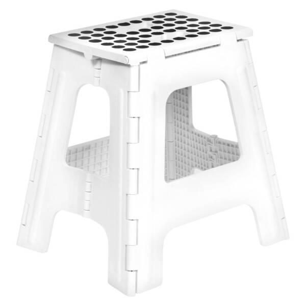 Fantastic Kikkerland Rhino Tall Folding Step Stool White Bralicious Painted Fabric Chair Ideas Braliciousco