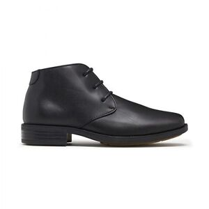 BOYS-JULIUS-MARLOW-ALFRED-JUNIOR-BLACK-LACE-UP-DRESS-SCHOOL-SHOES-BOOTS