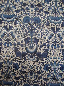 250cm LIBERTY Lodden blue  Tana Lawn cotton fabric - <span itemprop='availableAtOrFrom'>Carnforth, United Kingdom</span> - 100% satisfaction guaranteed - if for any reason you wish to return the item, please advise me within 7 days of reciept. I will refund the full cost of the item, less any postage costs  - Carnforth, United Kingdom