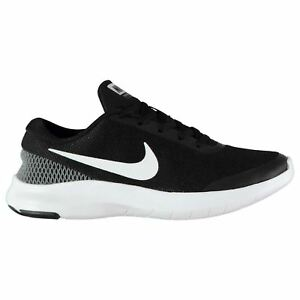 6f19d0e12c9ad Nike Flex Experience 7 Running Shoes Womens Black White Run Trainers ...