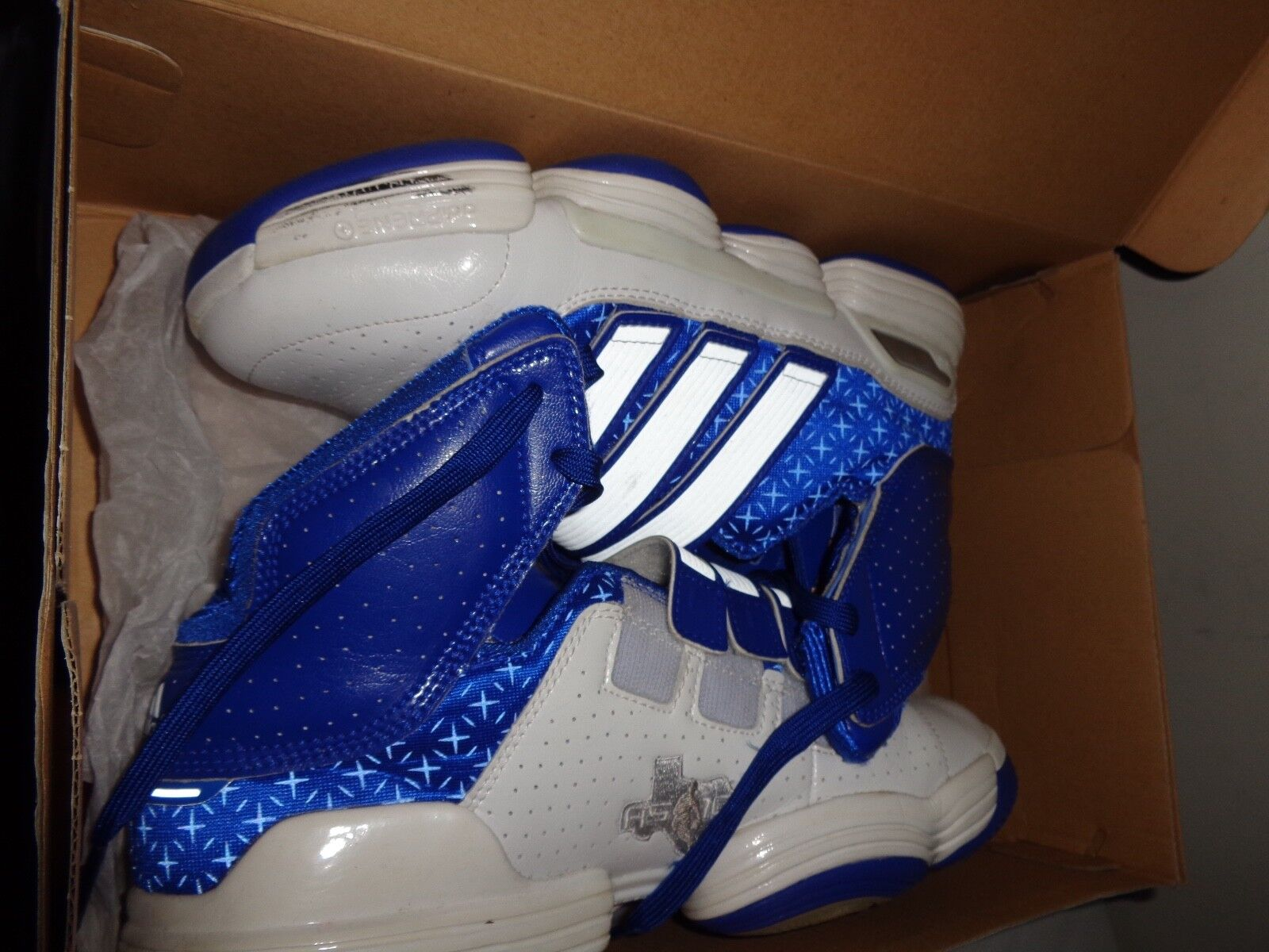 Adidas Dwight Howard 4 TS Supernatural Commander 2018 All Star Blue/White Price reduction