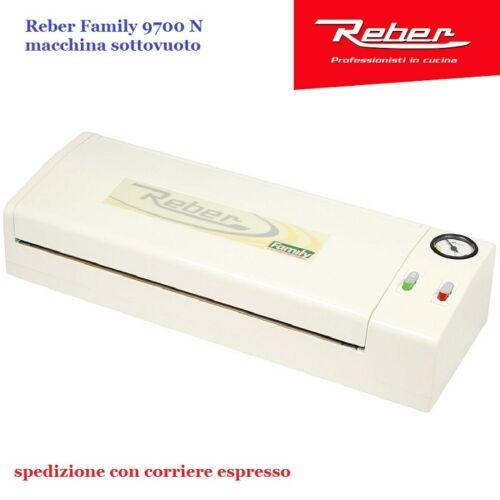 MACCHINA SOTTOVUOTO FAMILY REBER 9700N