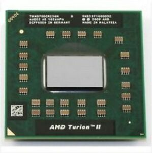 AMD Turion II Duo Core N570 TMN570DCR23GM Mobile CPU Processor Socket S1 G4 638p