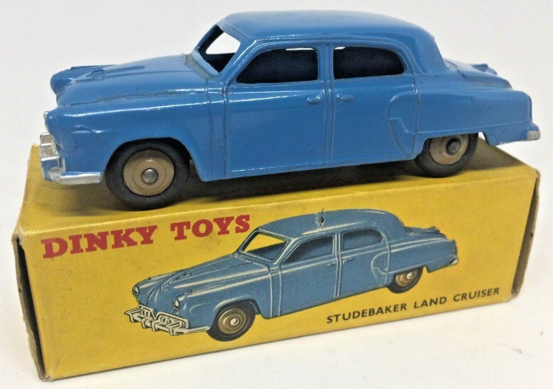 Dinky 172 Studebaker Land Cruiser-blu-Perfecto Estado-en Caja Original Muy Buena.