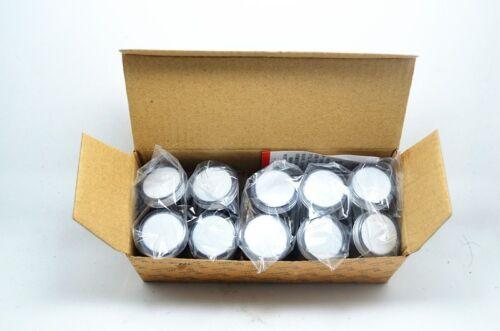 10Pcs White AC//DC 24V 22mm Thread LED for Electronic Indicator Signal Light