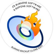 DVD CD Burning BRUCIATORE copia di backup Clone modifica Software Suite 1st spedizione gratuita su DVD