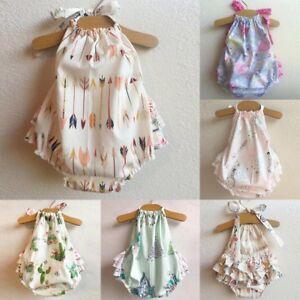 Newborn-Infant-Baby-Girl-Floral-Romper-Bodysuit-Jumpsuit-Outfits-Sunsuit-Clothes