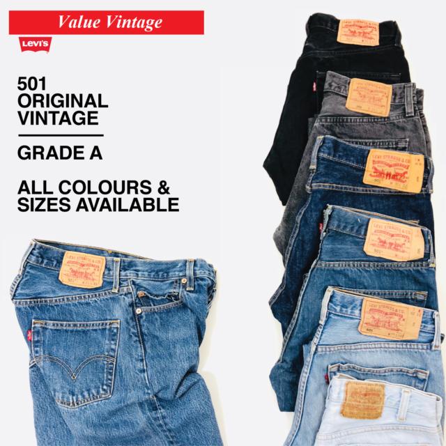 quality design 0b9a4 d4c18 Vintage Levis Levi 501 Herren Klasse A Jeans w30 w32 w34 w36 w38 w40 Levi's  Denim
