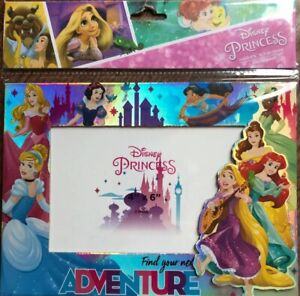 """Disney Princess Magnetic Picture Frame 4/""""x6/"""" Photos Magnetic and Back Stand NEW"""