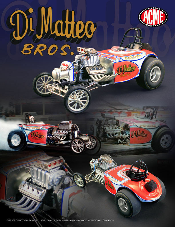 1 18 GMP ACME-Di Matteo Bredhers ALTERED DRAG CAR