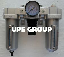 12 Combo Particulate Filter Moisture Trap Lubricator Regulator Amp Auto Drain