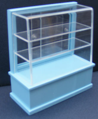 Paquete plano ancho 1:24 Escala De Madera Mdf Kit puesto de mercado casa de muñecas en miniatura tienda
