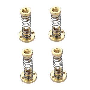 4x-3D-Drucker-T8-8mm-Spindelmutter-Muttern-Kugellager-Messing-Nut-Screw