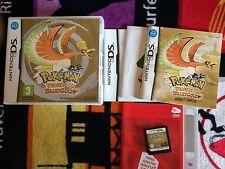 jeu ds 2ds 3ds Pokémon Version Or HeartGold