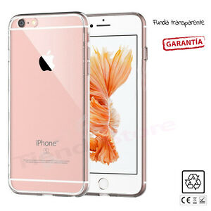 FUNDA-CARCASA-ULTRAFINA-TRANSPARENTE-GEL-SILICONA-TPU-compatible-iPHONE-6-6S
