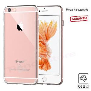 FUNDA CARCASA ULTRAFINA TRANSPARENTE GEL SILICONA TPU compatible iPHONE 6 6S