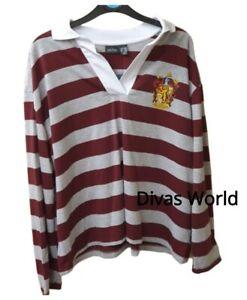 Harry-Potter-Gryffindor-T-shirt-Top-Womens-Ladies-Primark